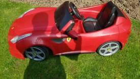 Ferrari Electric kids car