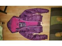 Superdry ladies puffer jacket size S
