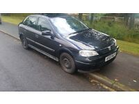 2003 VAUXHALL ASTRA 1.6 CLUB 12 MONTHS MOT LOW MILES