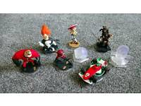 Disney infinity figures incredibles, cars, pirates etc