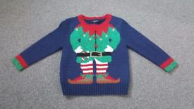 Christmas elf jumper age 12-18 months