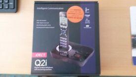 IDect Q21 handset & answering machine