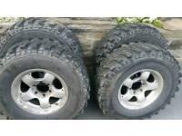 4x4 alloy wheels 6x139 jap fitment