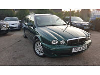 2004 JAGUAR X-TYPE ESTATE 2.0 DIESEL TOP OF THE RANGE MODEL!!!