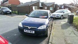 Vauxhall corsa 1.2 SXI 3 door full mot 12months mot