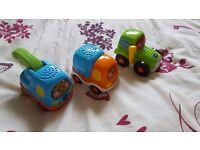 vtech toot toot car bundle 4