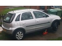 5 door Silver 53 plate corsa 1.2 sxi all parts available
