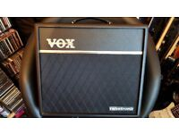 vox vt40 valve amp with footswitch (x2)