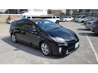 Toyota Prius 1.8 for Sale Black Metallic Colour Fresh Import Ready With UK Number Plate 2013 Model