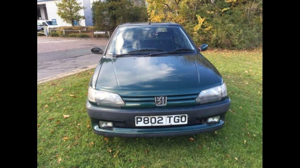 Peugeot 306 1.6 very low millage only 53000 miles drives excellent 1 year mot