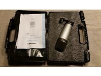 Samson C03 Condenser Microphone, Barely Used, In Perfect Condition