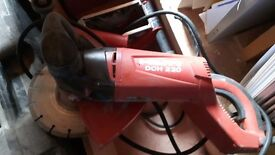 Hilti DCH 230 chaser with dado head for double chasing