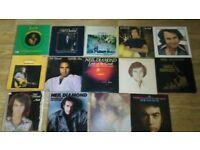 16 x neil diamond vinyl LP's - joblot , heartlight , stones , velvet gloves