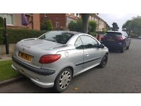 Peugeot cc (convertible) for sale or swop