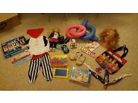 Bundle of toys includes Zoomer Puppy pet parade and stompeez