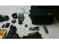 Nikon d5300 mint condition with extras