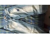 DG Dolce Gabbana jeans. . worn once.. waist 35. long leg. can be altered.