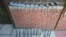 Spalding full golf set /clubs