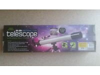 Discovery 50x/100x refractor telescope with tripod