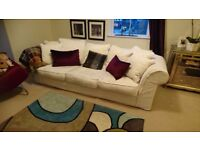 Collins and hayes havana 4 seater sofa