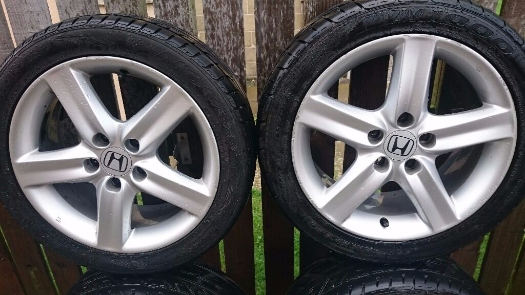 "4 Honda Civic 17"" Alloy Wheels price dropped"