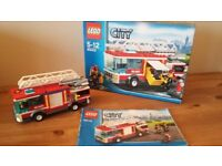 LEGO city Fire Engine 60002