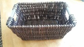 Wicker basket for sale £10