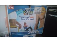 Total core. Delux workout machine