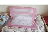 Lindam bed guard folding rail