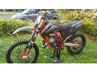 KTM SX 125 with extras and certificate of authenticity from KTM