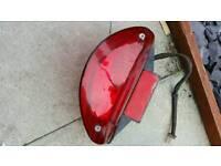Scooter rear light assembly
