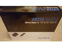 "Avtex Carry Case for 19"" and 22"" LED TV (Model AK854 )- Brand New & Boxed"