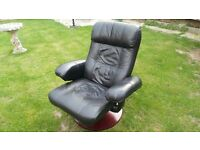 Full Leather Reclining Chair