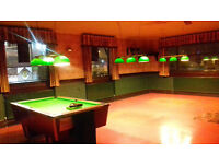 Bar Clearence Sale (Pool Table, Lights, Plates, Jugs, Stools, Brass & Copper etc.) *
