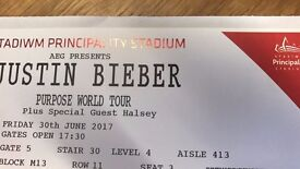 Up To Four Justin Bieber Concert Tickets