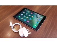 Apple iPad (5th Gen) 32GB MP1J2B/A Space Grey Wifi + Cellular Tablet - Unboxed With Charger.