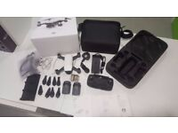 DJI Spark, Fly More Combo, extra batteries etc, White, AS NEW!!