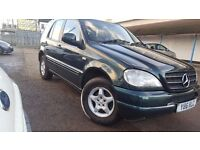 2001 MERCEDES ML 270CDI 7 SEATERS, TOWBAR AUTOMATIC , EAST LONDON
