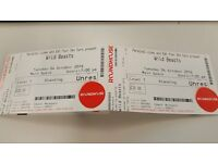 2 tickets for Wild Beast @ The Roundhouse