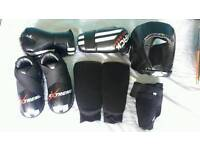 Kids Martial Arts Sparring Gear