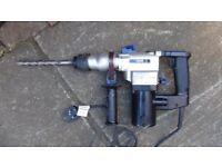 Sds rotary hammer drill 240v