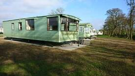 Nice Carnaby static caravan holiday home, all new pitch *2017 fees included! *