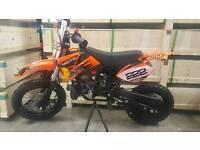 IMR racing....... 50cc motocross bikes ( ktm engine )