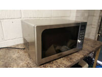 De'Longhi Steel Combination Microwave Oven and Grill in Very good working order