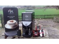 Rijo 42 Brasil Bean To Cup B2C Commercial Hot Drink Coffee Machine Vending Cafe