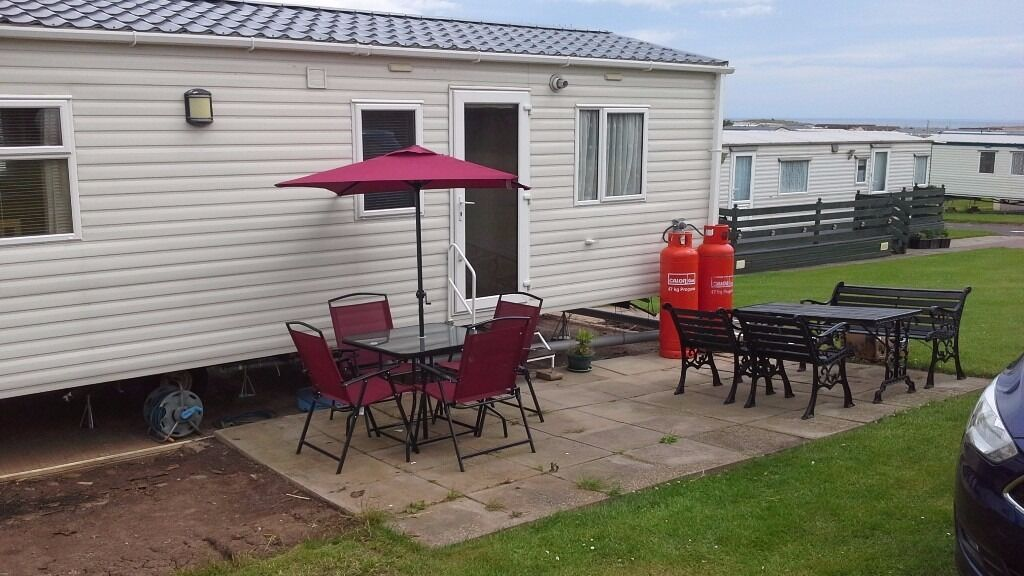 Creative UK Private Static Caravan Holiday Hire At Eyemouth Berwickshire