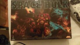 Warhammer 40k Space Hulk Board game for sale - £45 ono