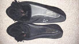 Black topshop shoe, size 5