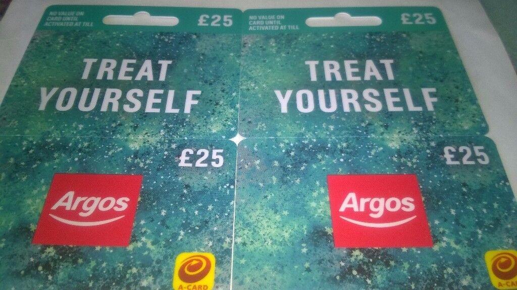 Argos Vouchers 100% Genuine £25 x 2 ( EXPIRE 1/5/2019 )