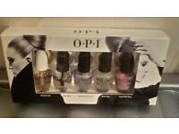 OPI DISCOVERY SET OF 5 TREATMENT BOTTLES INCLUDING 2 OPI NAIL ENVY BOXED GIFT SET BRAND NEW